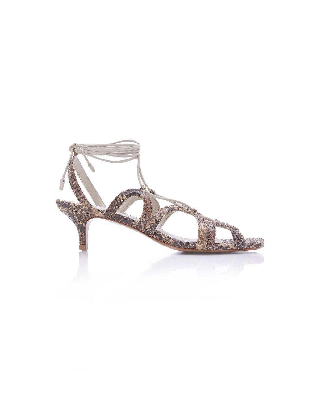 3f4c38366fd Zimmermann. Women s Scallop Kitten Heel Sandals