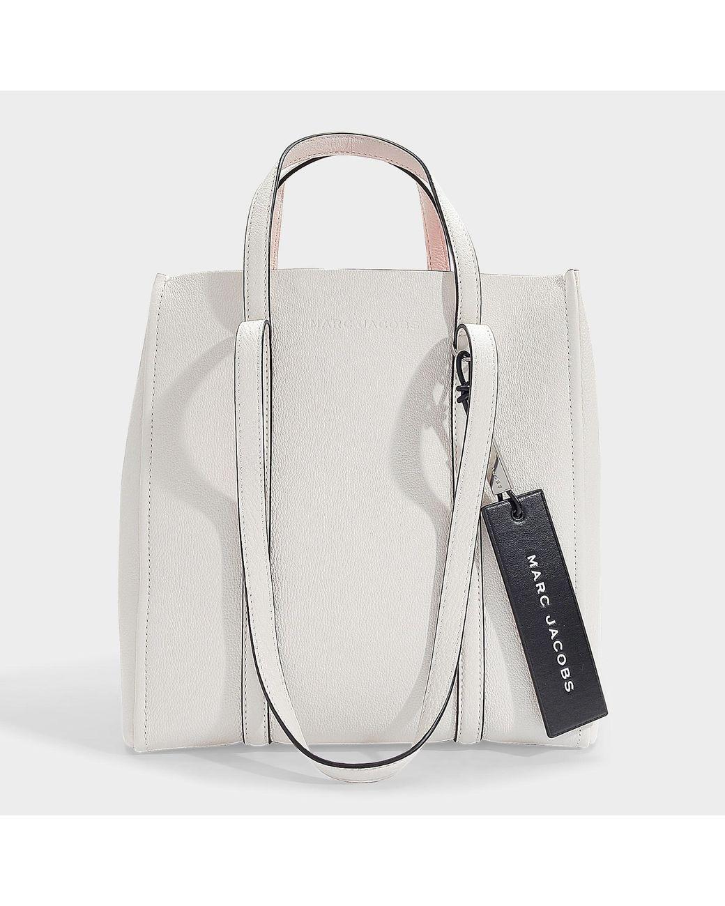 Cabas The Femme Cuir Porcelaine Tag Coloris Blanc En De 0nwkX8OP
