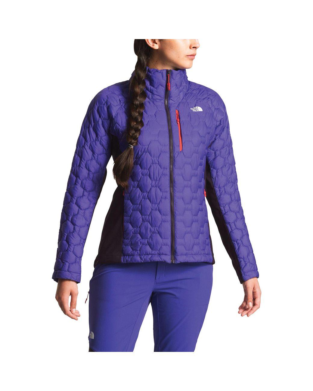 299450eb7 Women's Purple Impendor Thermoball Hybrid Jacket