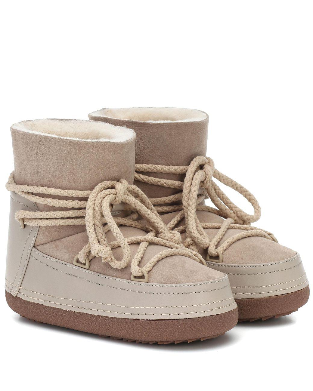Natur Ankle Lyst Inuikii Classic Aus Veloursleder Boots In CxeBrdoW