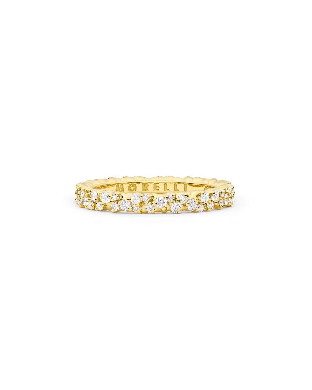 18k Yellow Gold /& Sterling Silver Dragonfly Bamboo Ring Solid SZ 6-8