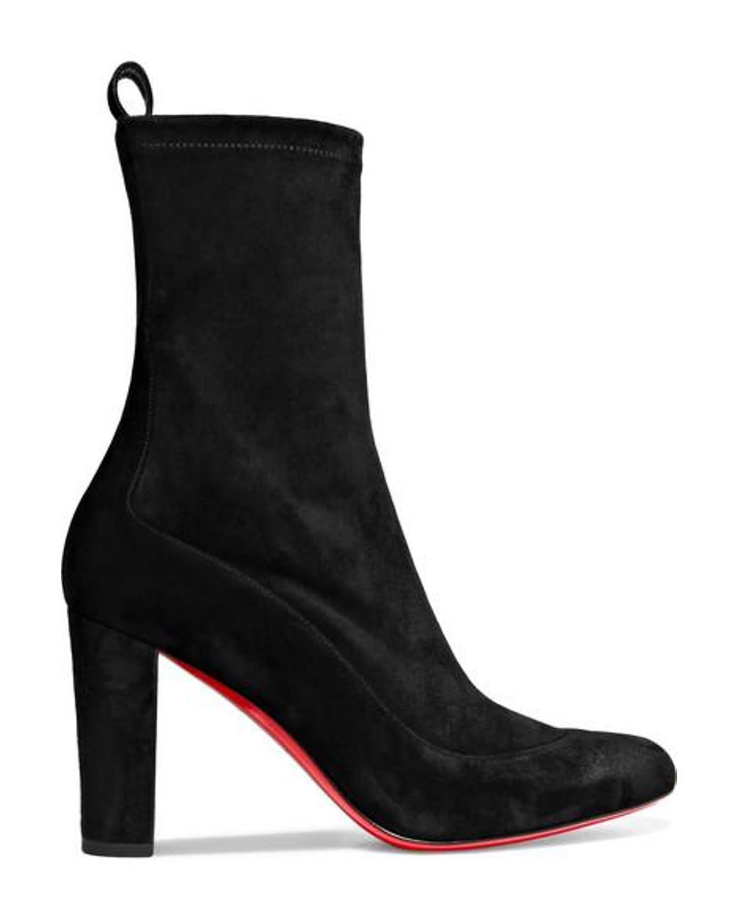 free shipping 89cf8 a2107 Women's Black Gena 85 Suede Ankle Boots