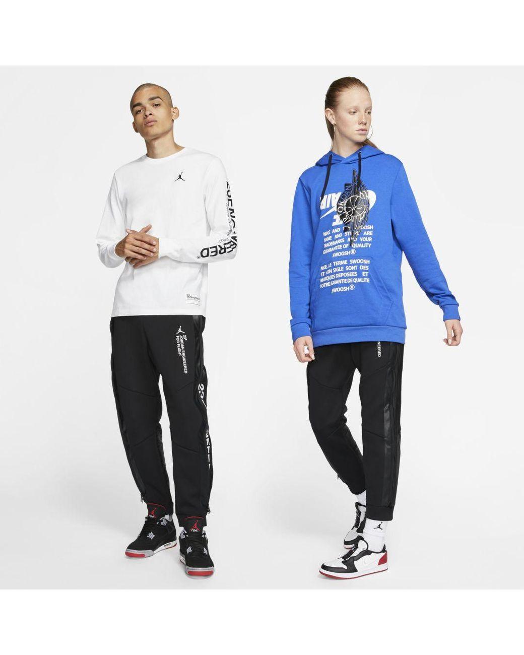 Jordan 3 Engineered Pants Black White | Footshop
