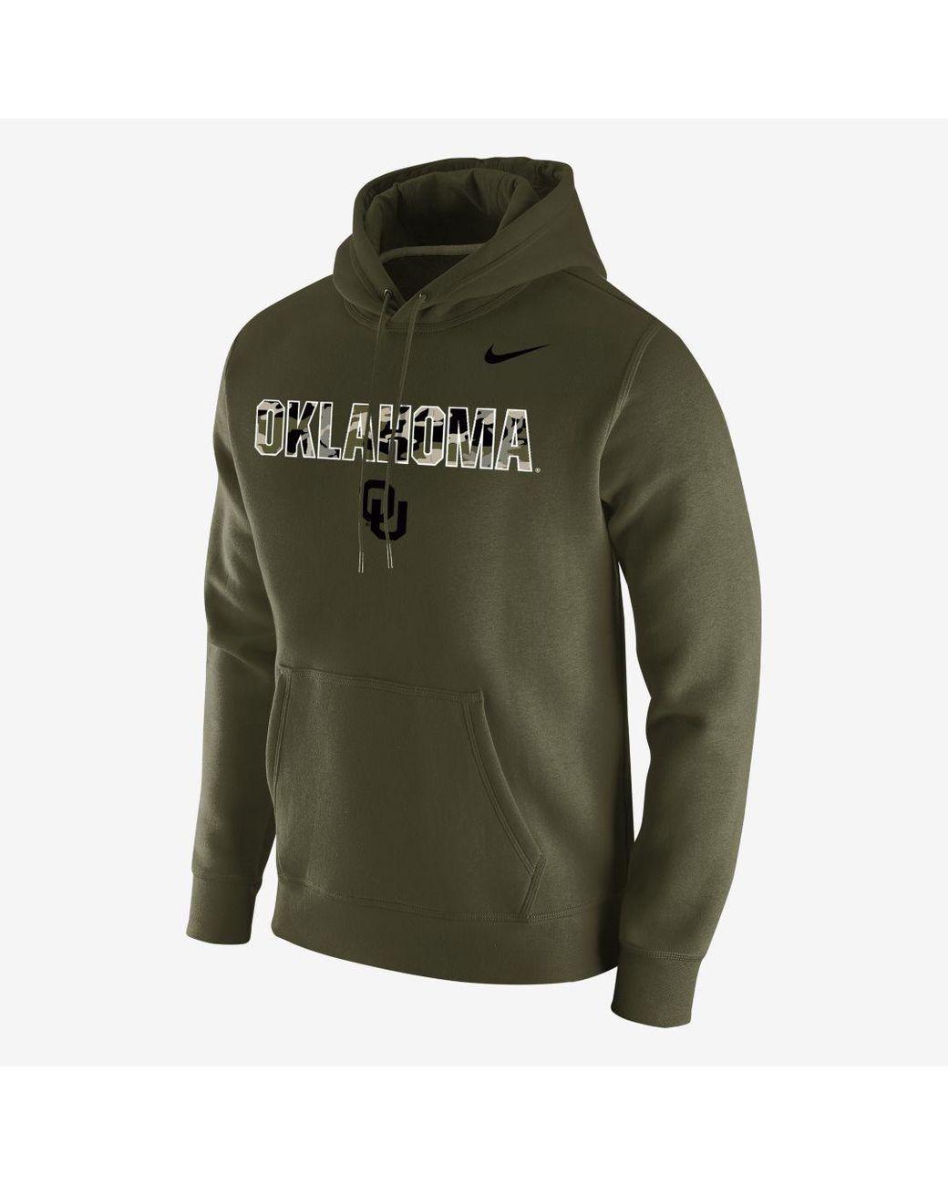 Nike College Club (Oklahoma State) Men's Pullover Hoodie