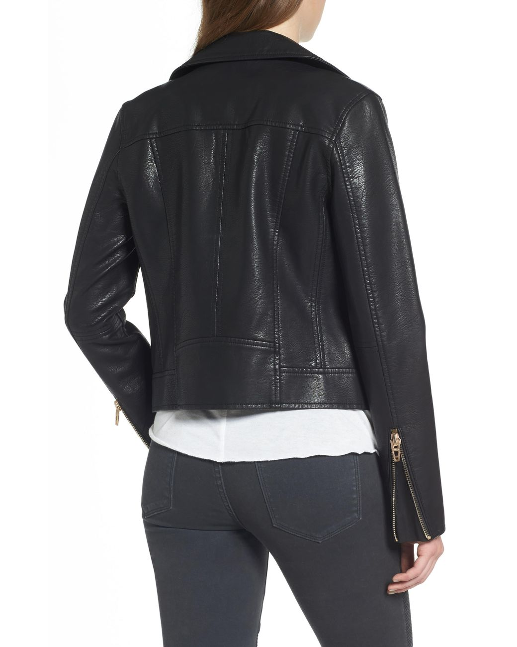 6e1492e1b Women's Black Life Changer Moto Jacket