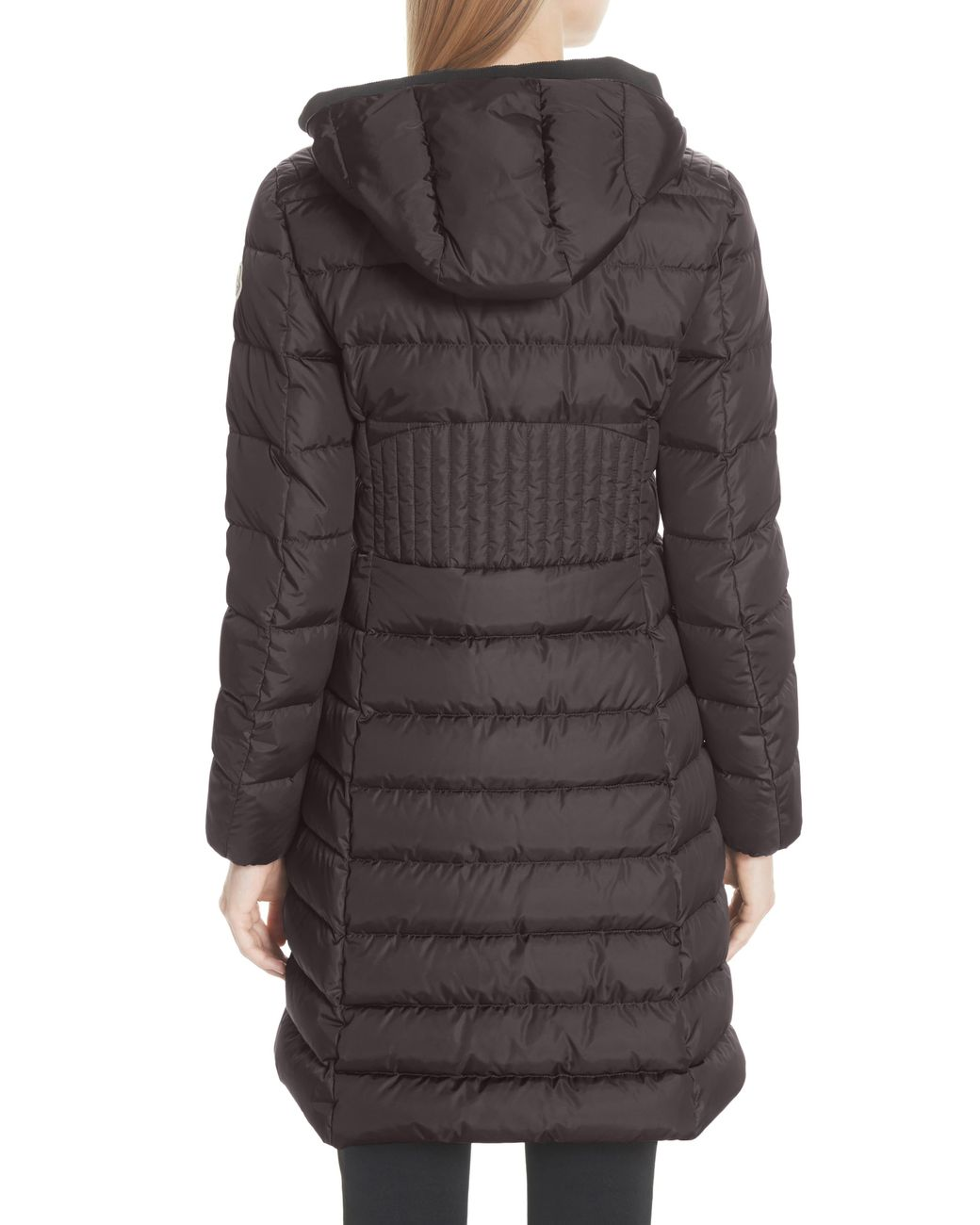 6ce0751e9 Women's Gray Taleve Hooded Quilted Down Coat