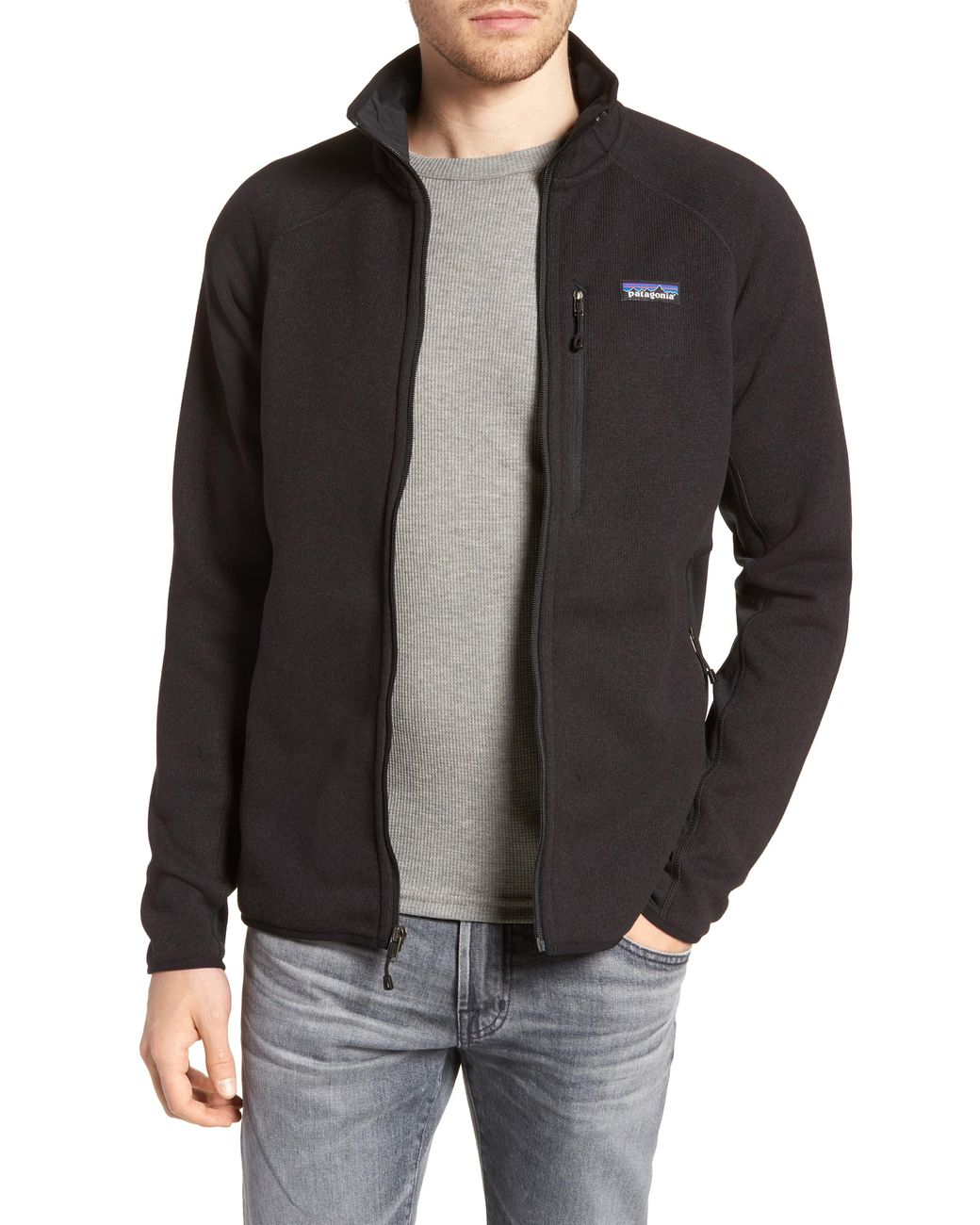 timeless design new lifestyle purchase cheap Patagonia Fleece Better Sweater Performance Slim Fit Zip Jacket in ...