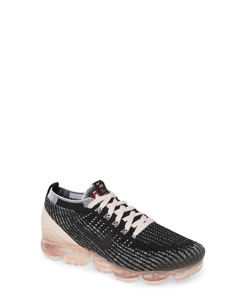 nike air vapormax flyknit 3 black barely rose