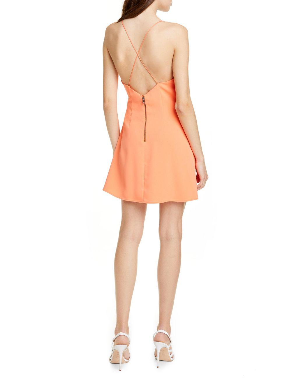 897c169fceb Lyst - Alice + Olivia Katie Faux Wrap Dress
