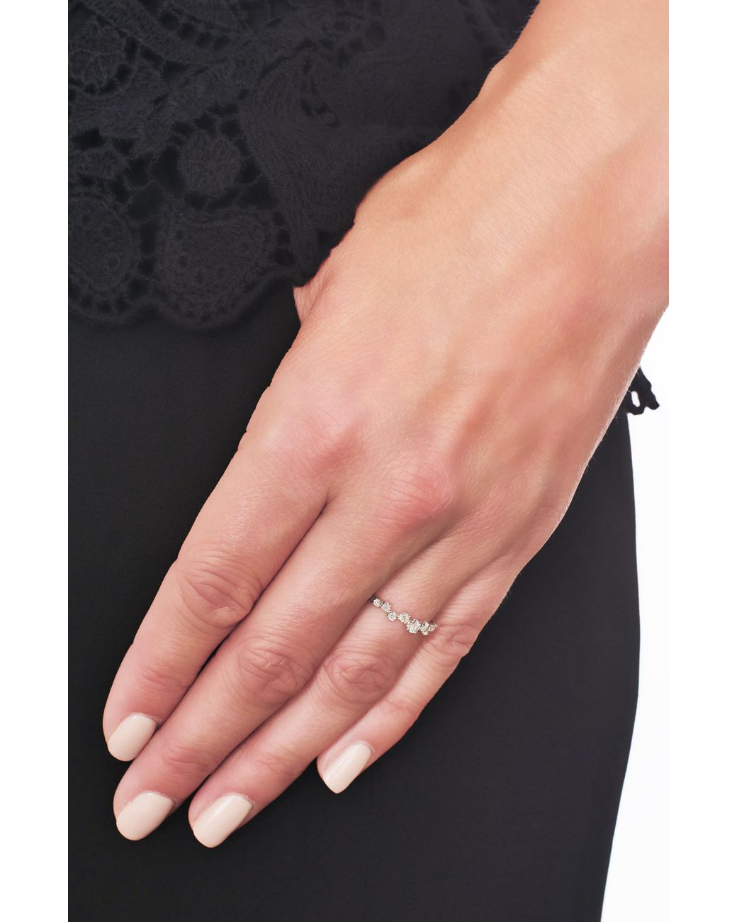 Bony Levy Diamond Stacking Ring Nordstrom Exclusive Lyst
