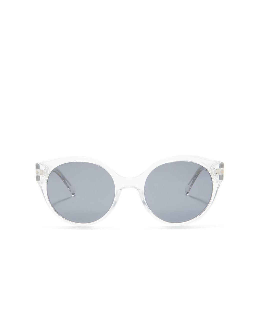af3bb8a183f2 Cole Haan Polarized 52mm Round Sunglasses - Lyst