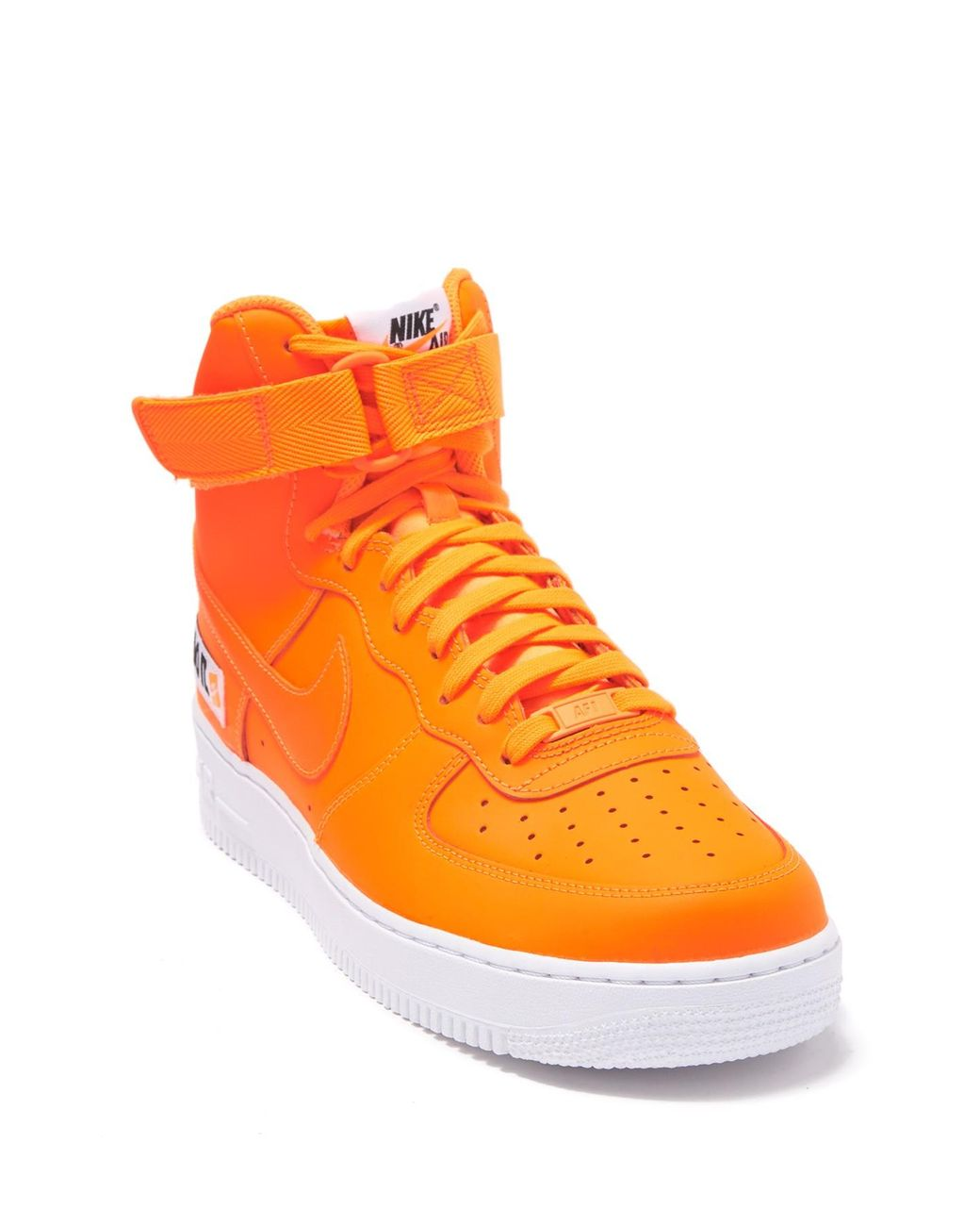 new styles f7c43 0c3ae Men's Orange Air Force 1 High '07 Jdi Sneaker