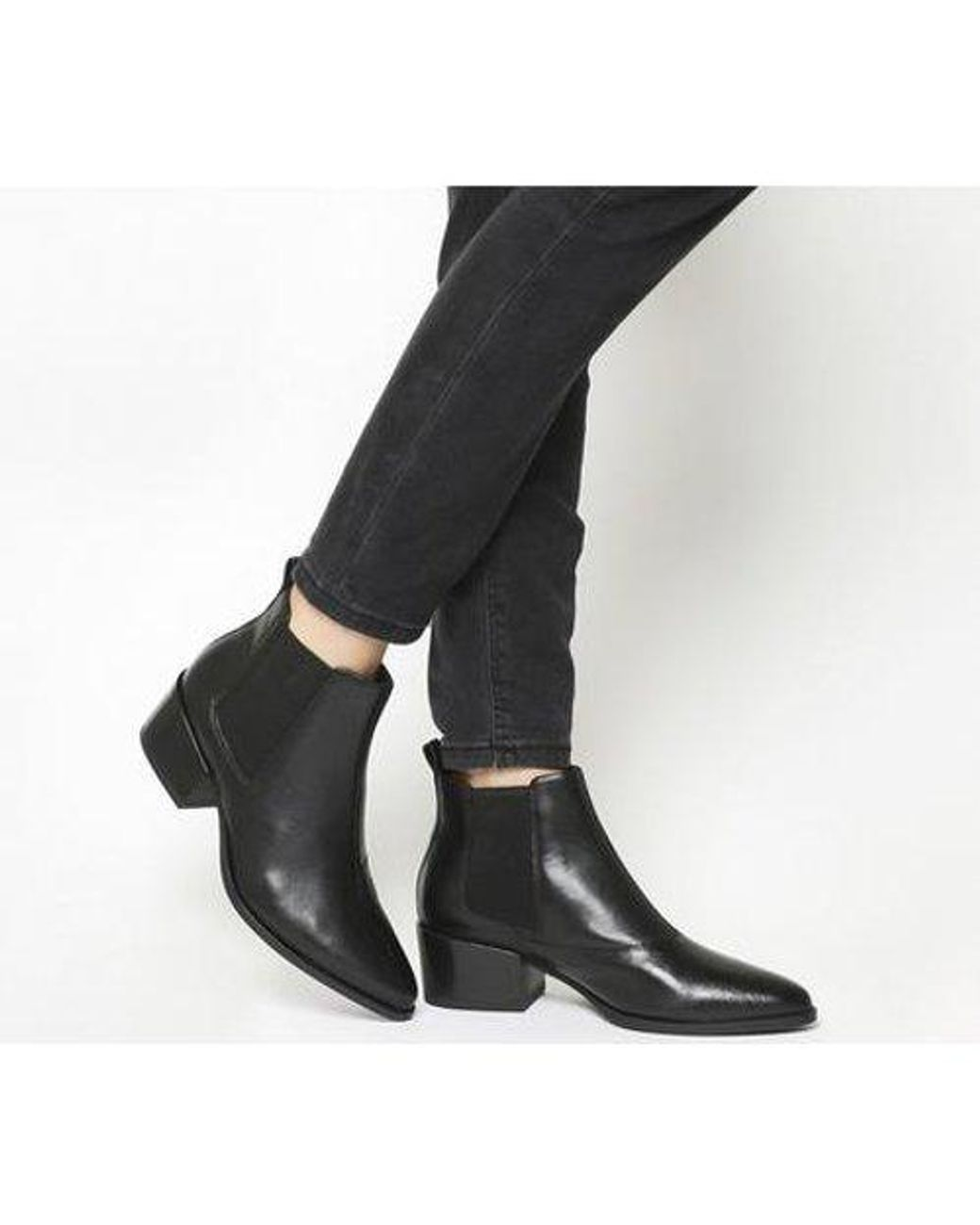 Vagabond Leather Marja Ankle Boot in