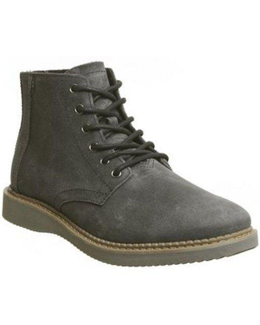 5ba62fa3591 TOMS Porter Boot in Black for Men - Lyst