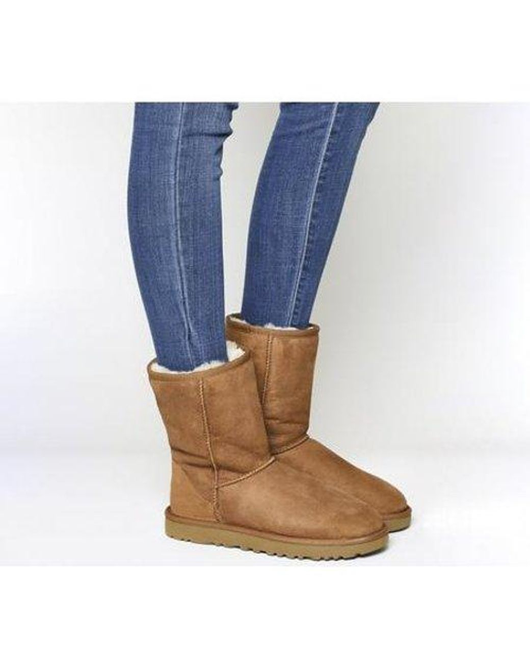 UGG Suede Classic Short Ii Boots in Tan