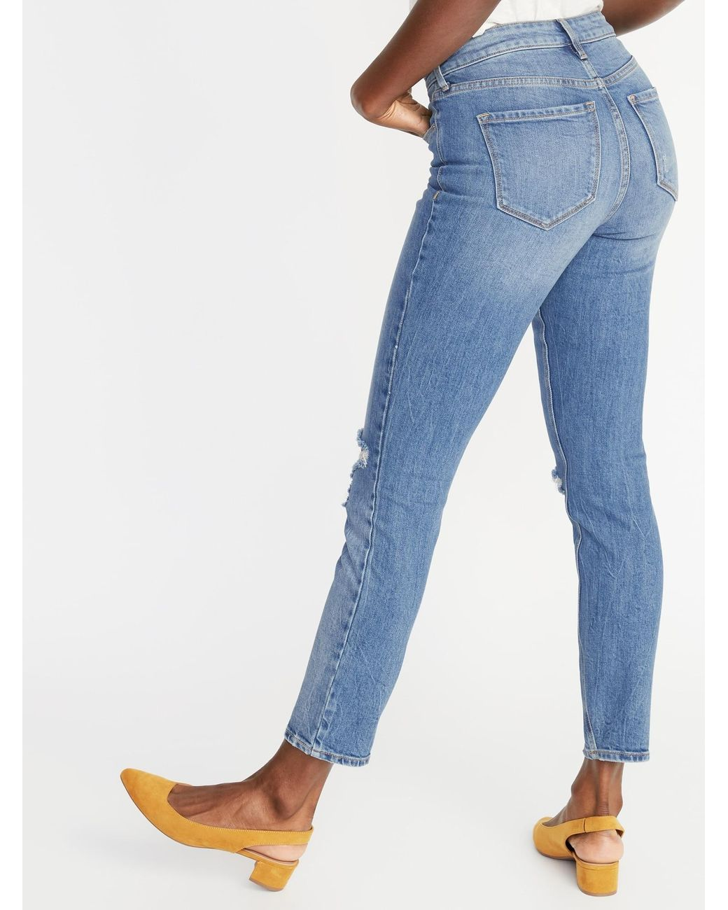 THIS CITY WOMENS SKINNY CAMDAN WASH RED JEANS WITH STUDDED BACK POCKET