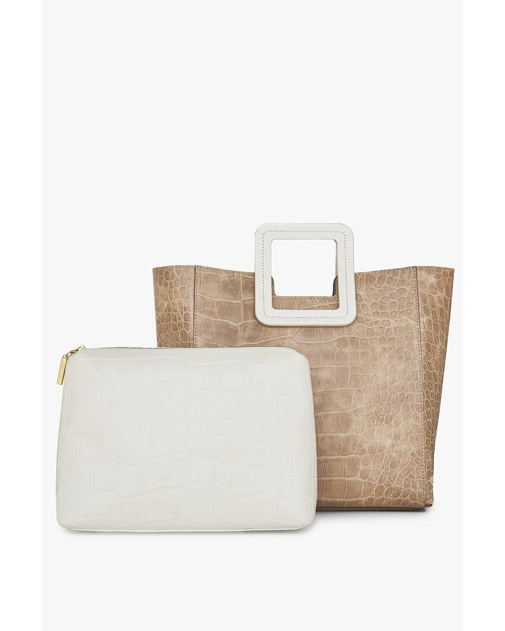 Natural Cream Cotton Shoulder Bag // Shopper //Tote Wolf /& Balloon Design