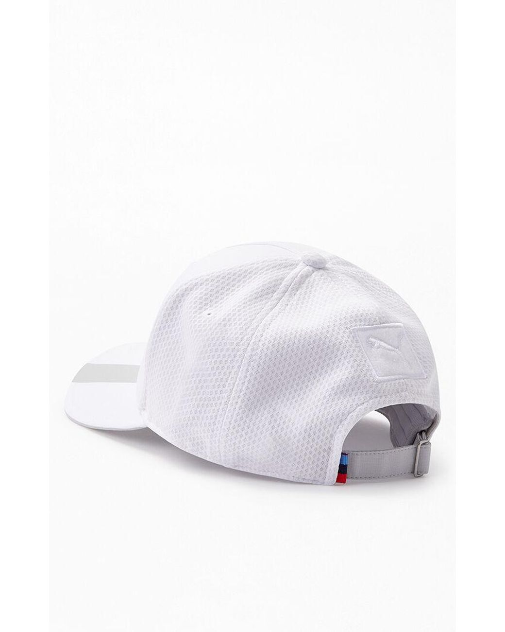 great look new arrival coupon codes PUMA X Bmw Strapback Dad Hat in White for Men - Lyst