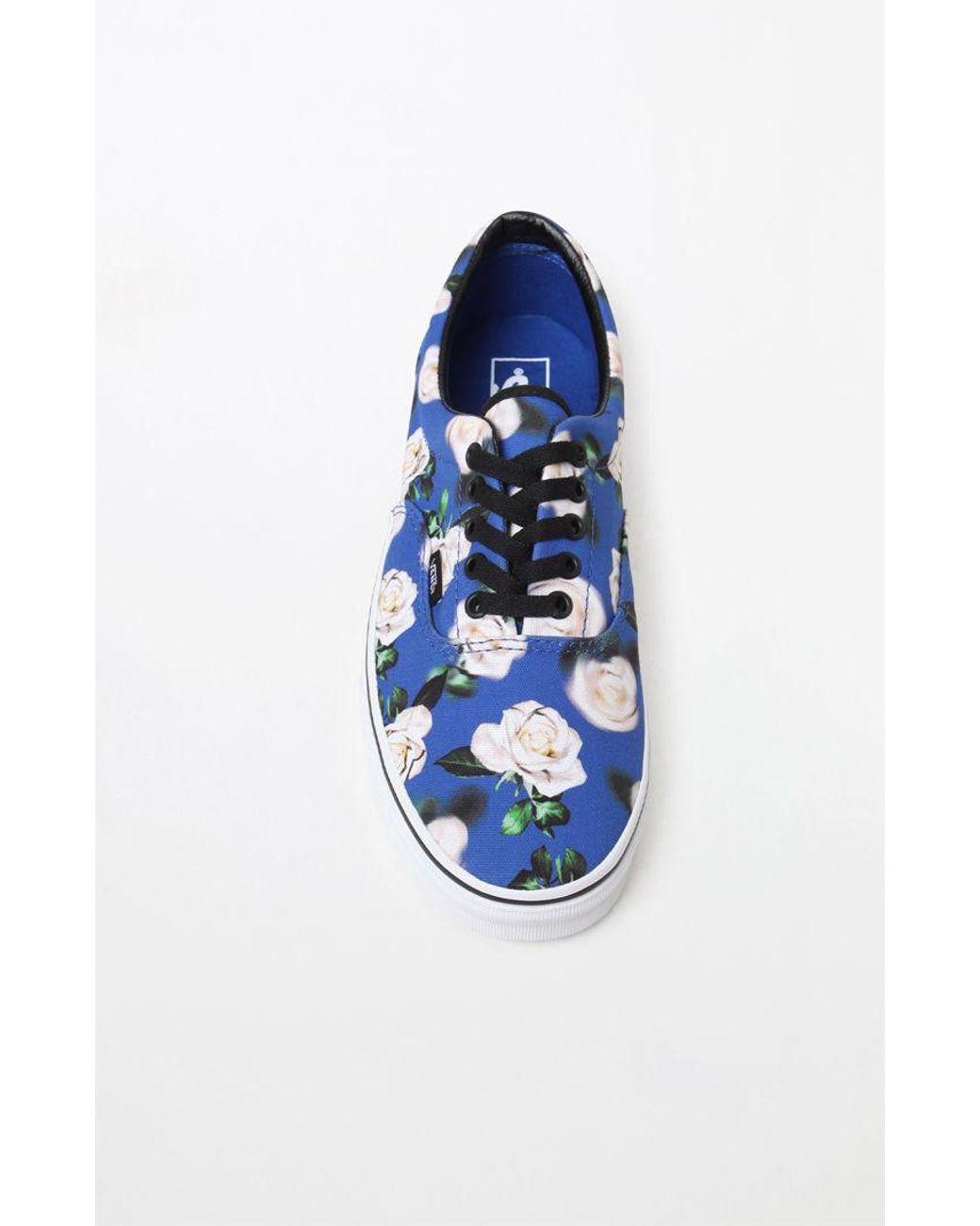 8d50c7f3ec Lyst - Vans Romantic Floral Era Shoes in Blue for Men