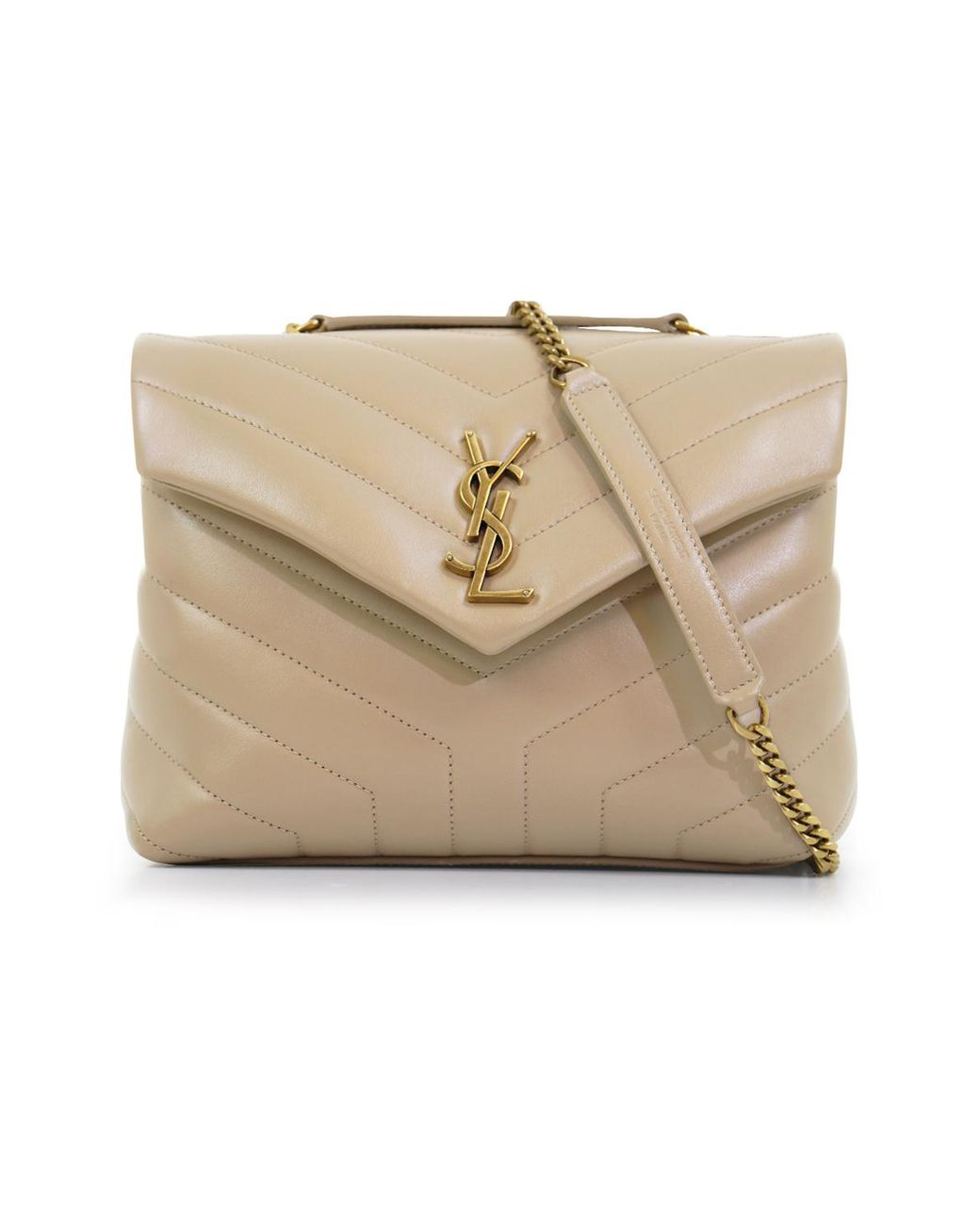 8ec73158 Women's Natural Loulou Small Flap Bag Poudre