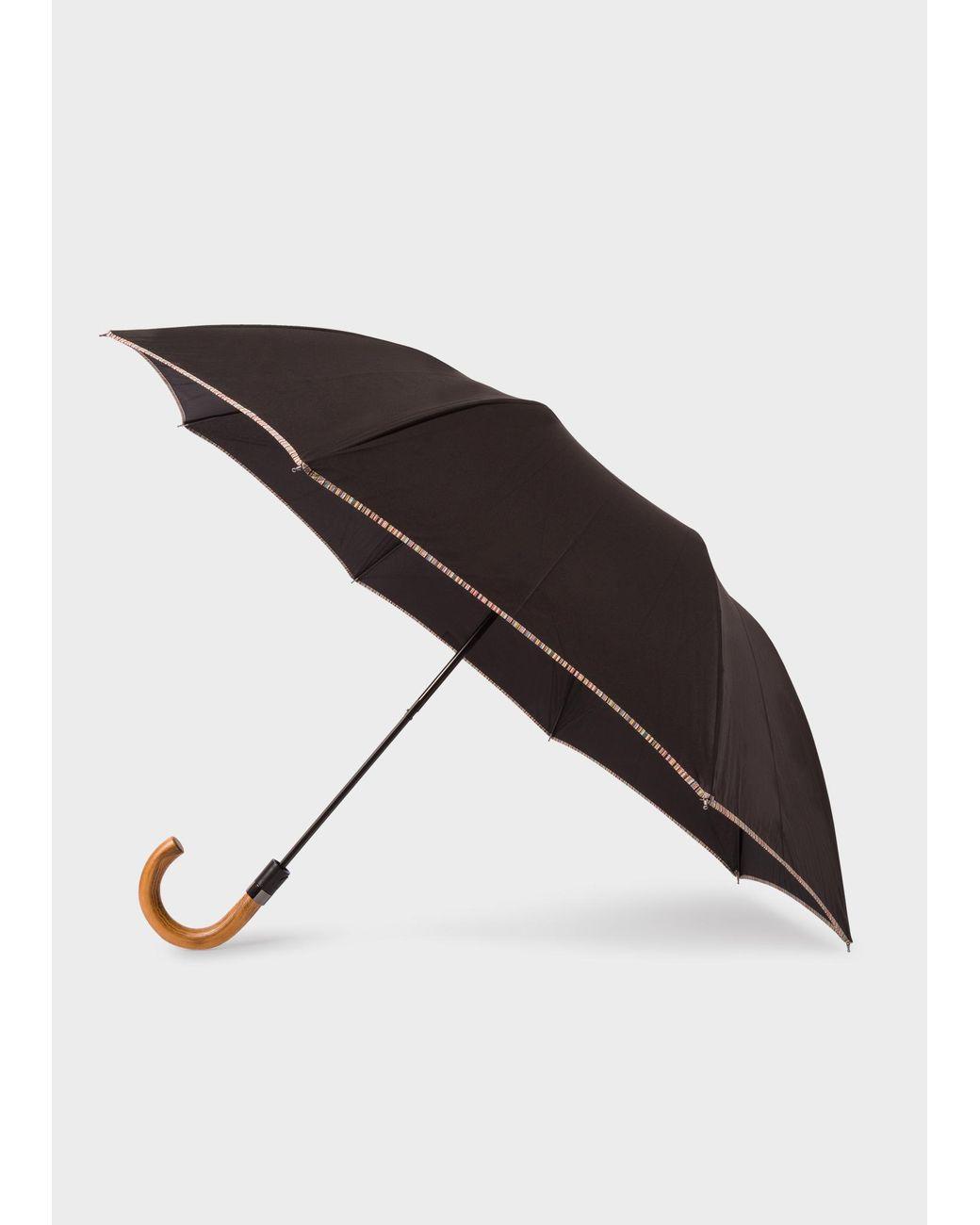 Black Guinness Embossed Umbrella 100Cm Diameter