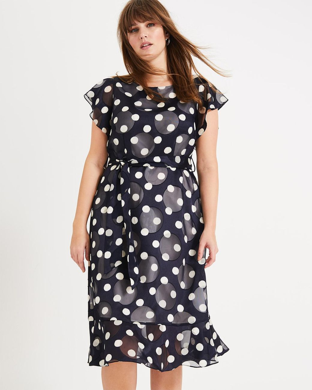 1dda2ad2498 Studio 8 Viviana Spot Dress in Blue - Lyst