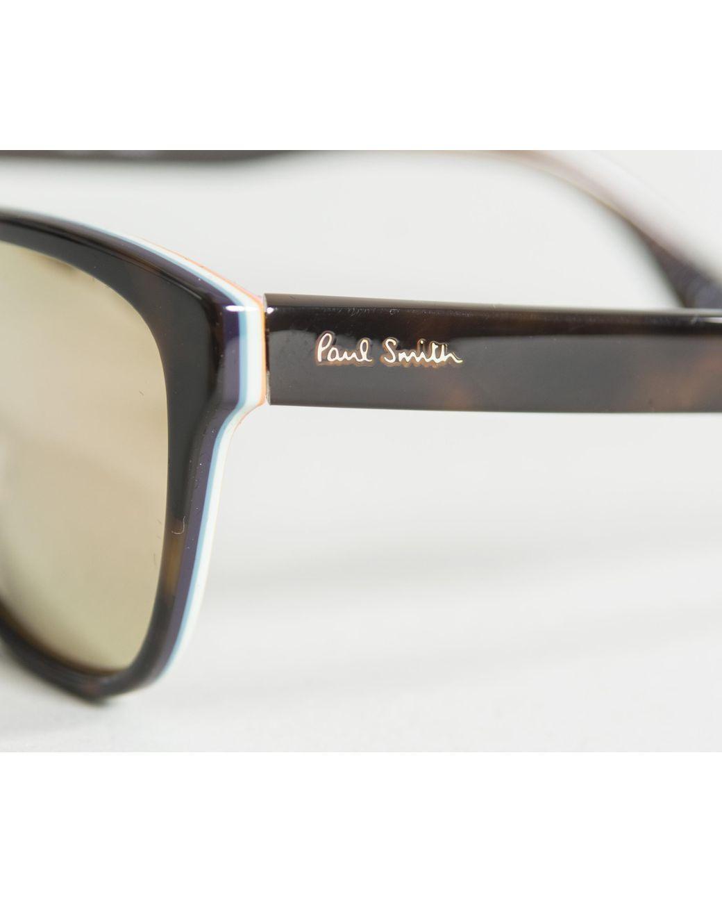 6c11311a800f0 Lyst - Paul Smith  hoban  Mirror Sunglasses Tortoiseshell for Men