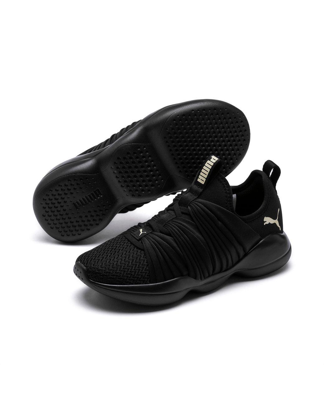 PUMA Flourish Women's Training Shoes in 01 (Black) Lyst