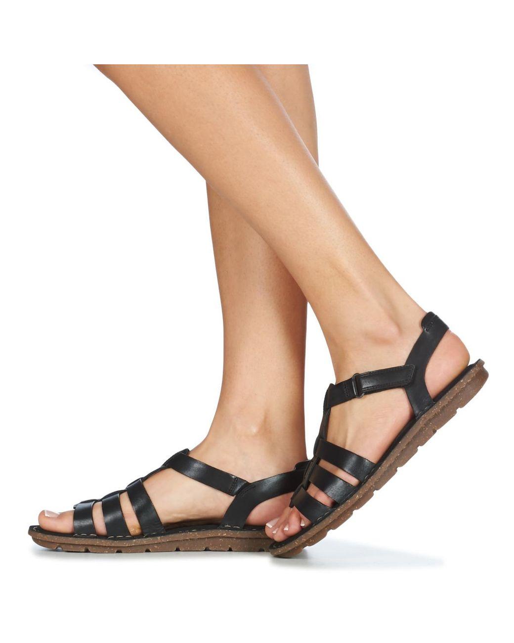 Clarks Blake Jewel Sandals in Black