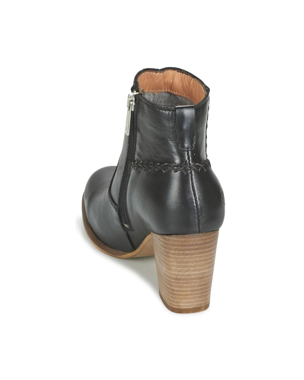 Marc O'polo Leather Jaddi Baka Low Ankle Boots in Black
