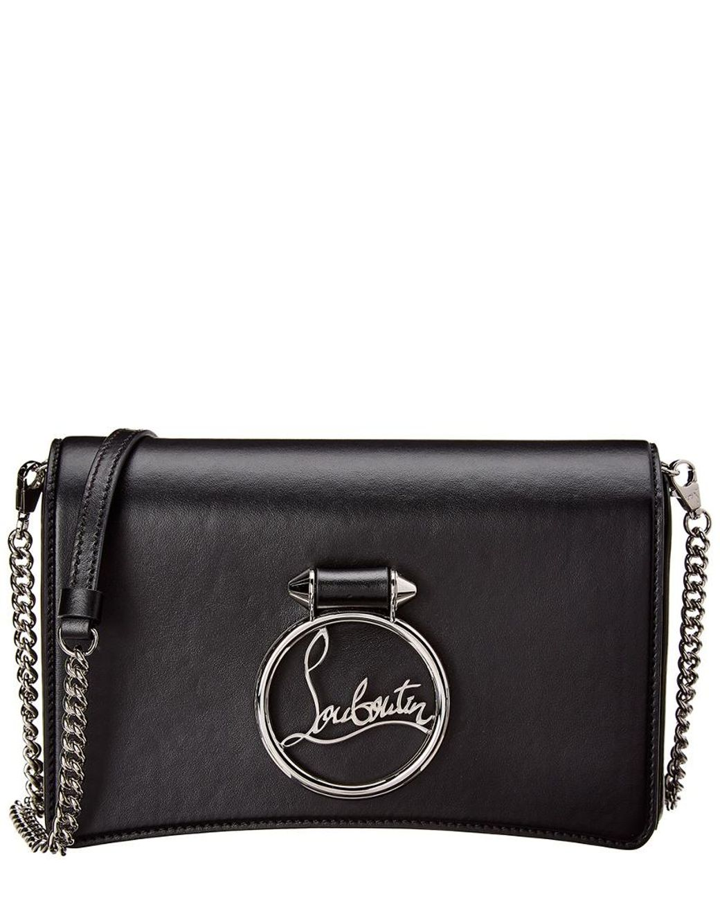 a2b79c24bf4 Lyst - Christian Louboutin Mini Rubylou Leather Shoulder Bag in ...