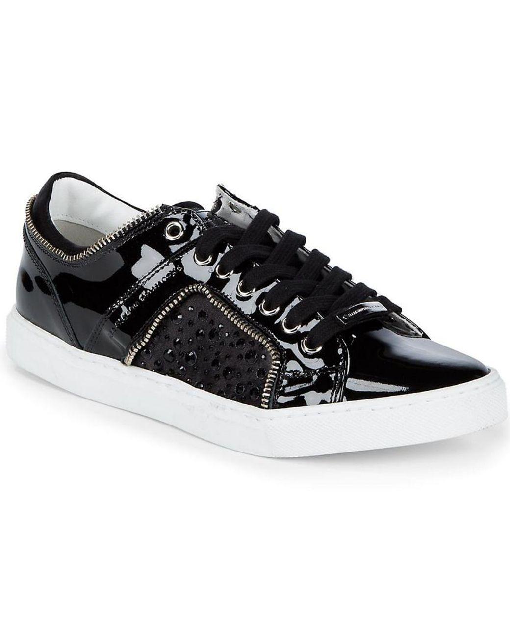 Alessandro DellAcqua Fashion-Sneakers Womens Suede Blue