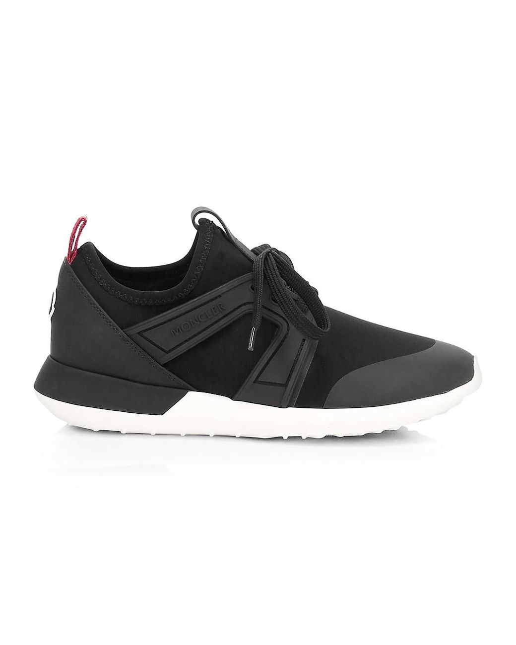 Meline Stretch Sneakers in Black
