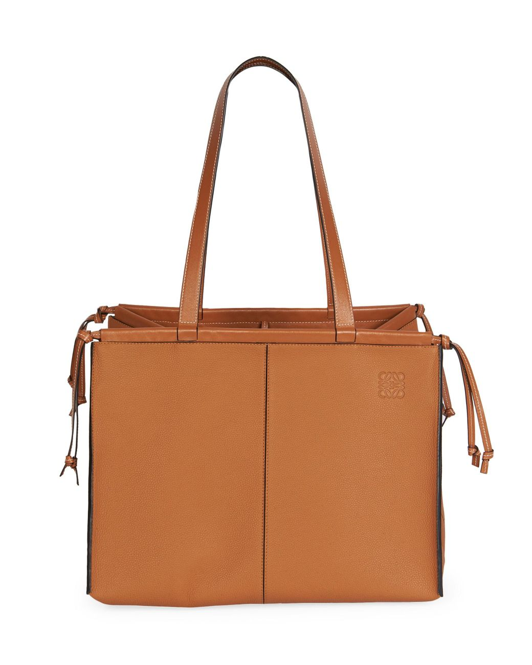 53adc38048b Women's Brown Cushion Leather Tote