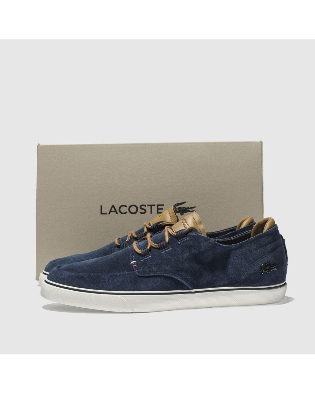 Lacoste Suede Esparre Deck Trainers in