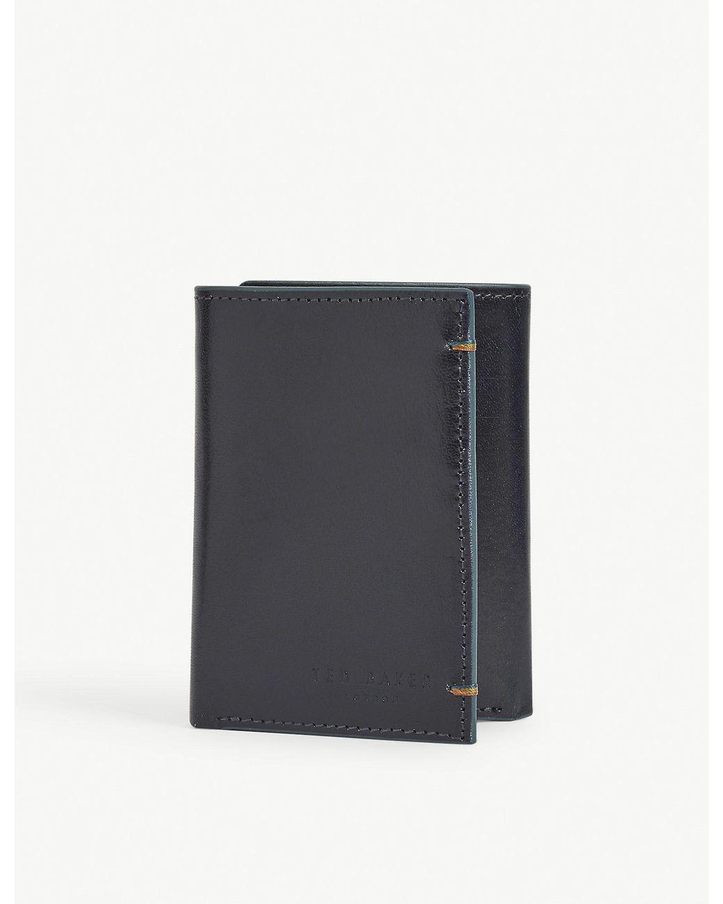 TOMMY HILFIGER Corporate Highlight Zip Around Wallet Geldbörse Tommy Navy Blau