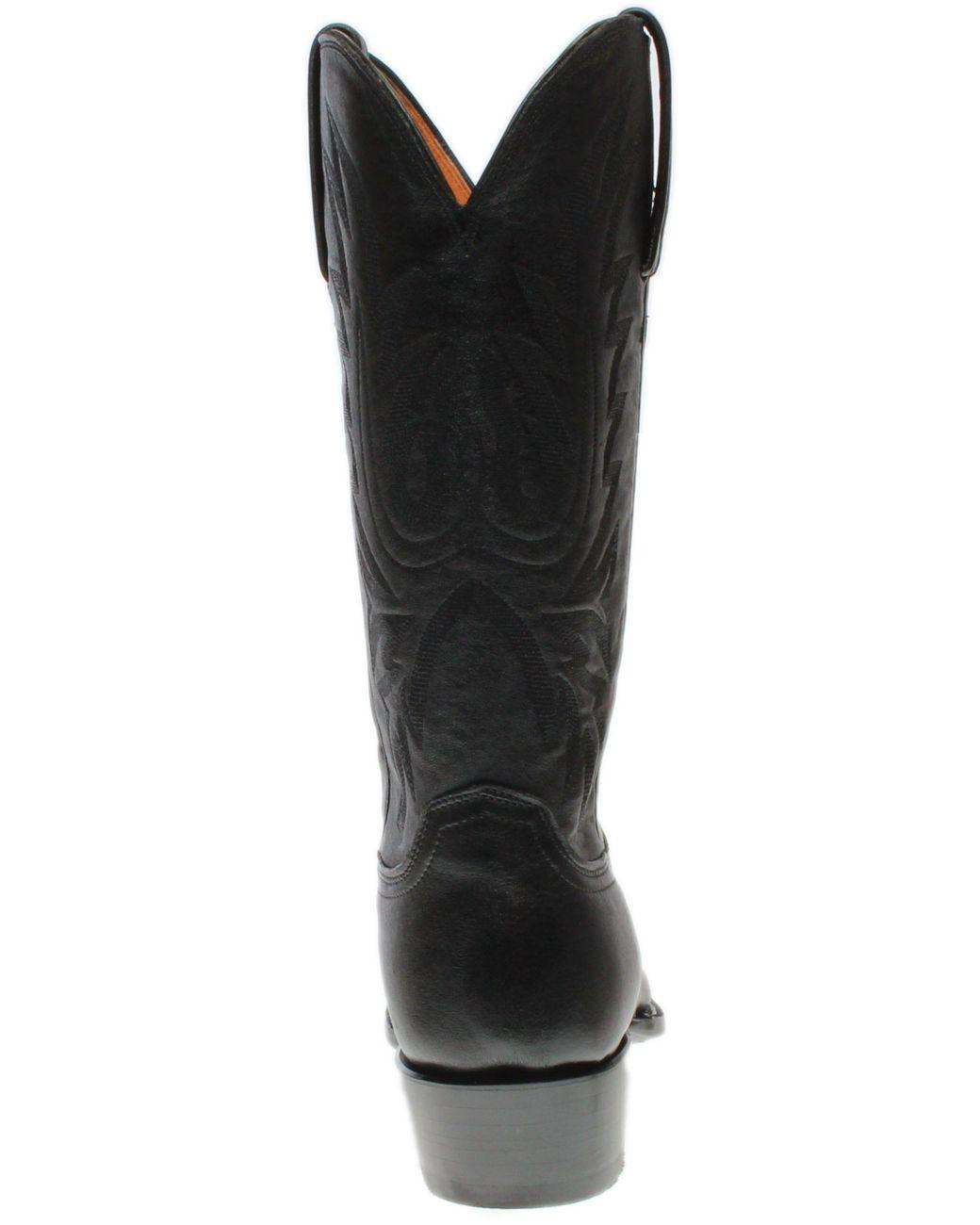 a3befb02adb Men's Black Carson Lonestar Calf Leather Boots