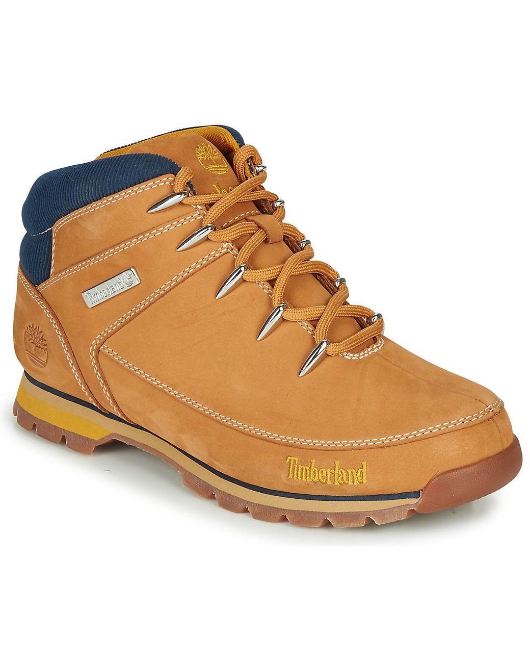 timberland homme chaussure jaune