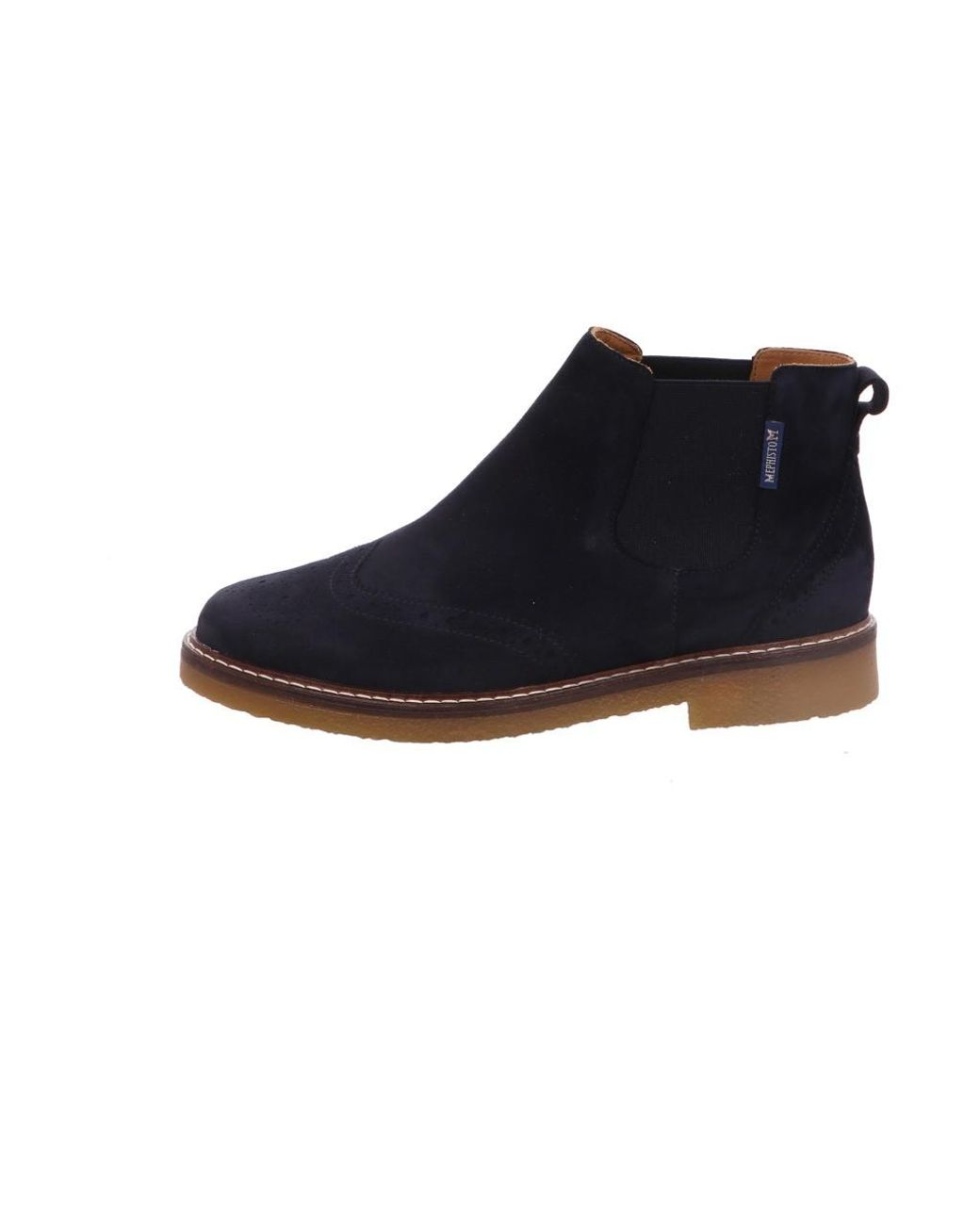 Blue Wo Stiefellette Navy Mephisto Ankle Suede Boots Yfgyb6v7