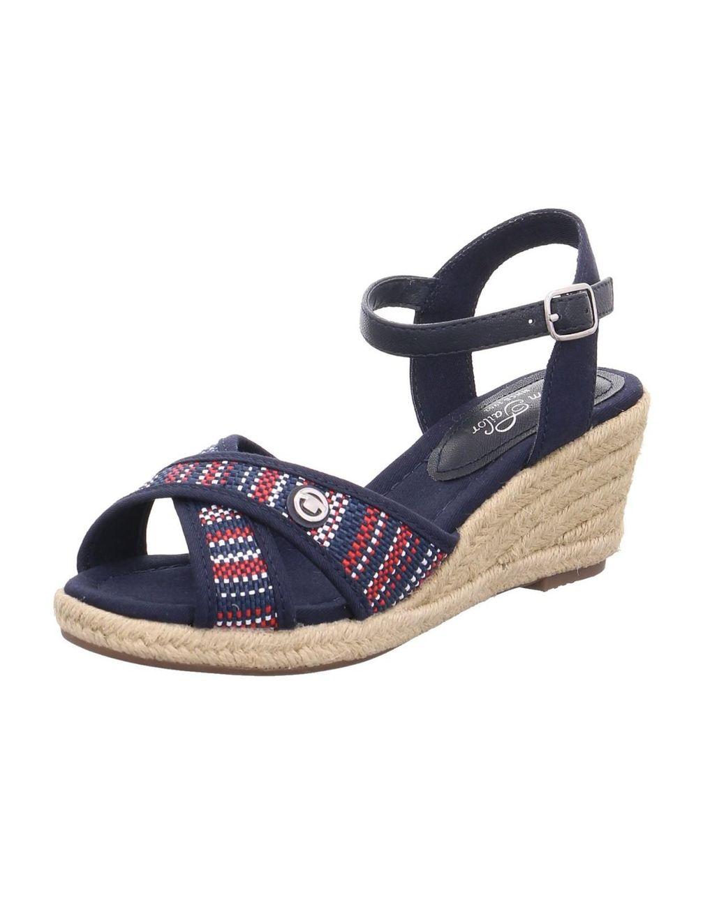 Tom Tailor Damen Sandalette 6990709