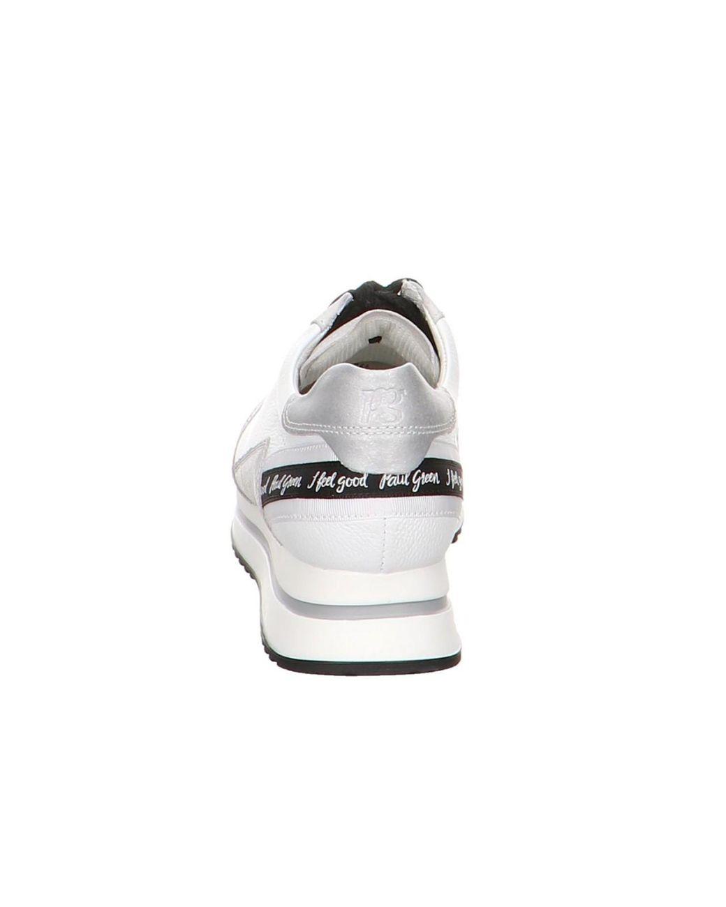 heiß-verkaufender Beamter am besten billig Weg sparen Paul Green Wo Trainers White 0064-4791-004/sneaker 4791-004 ...