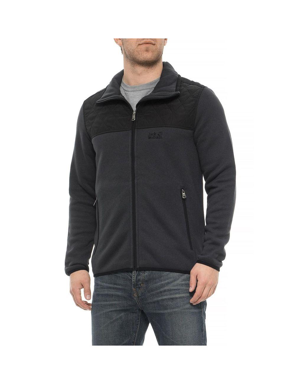 30a1325be Men's Black Mackenzie River Fleece Jacket
