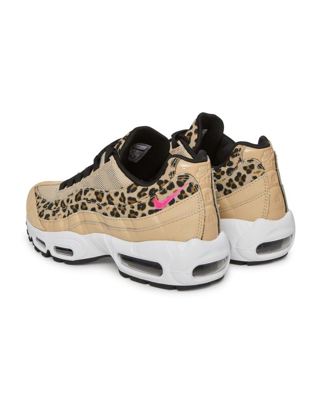 super popular 0d94e c75c3 Women's Wmns Air Max 95 Premium Sneakers Desert Ore/fuchsia