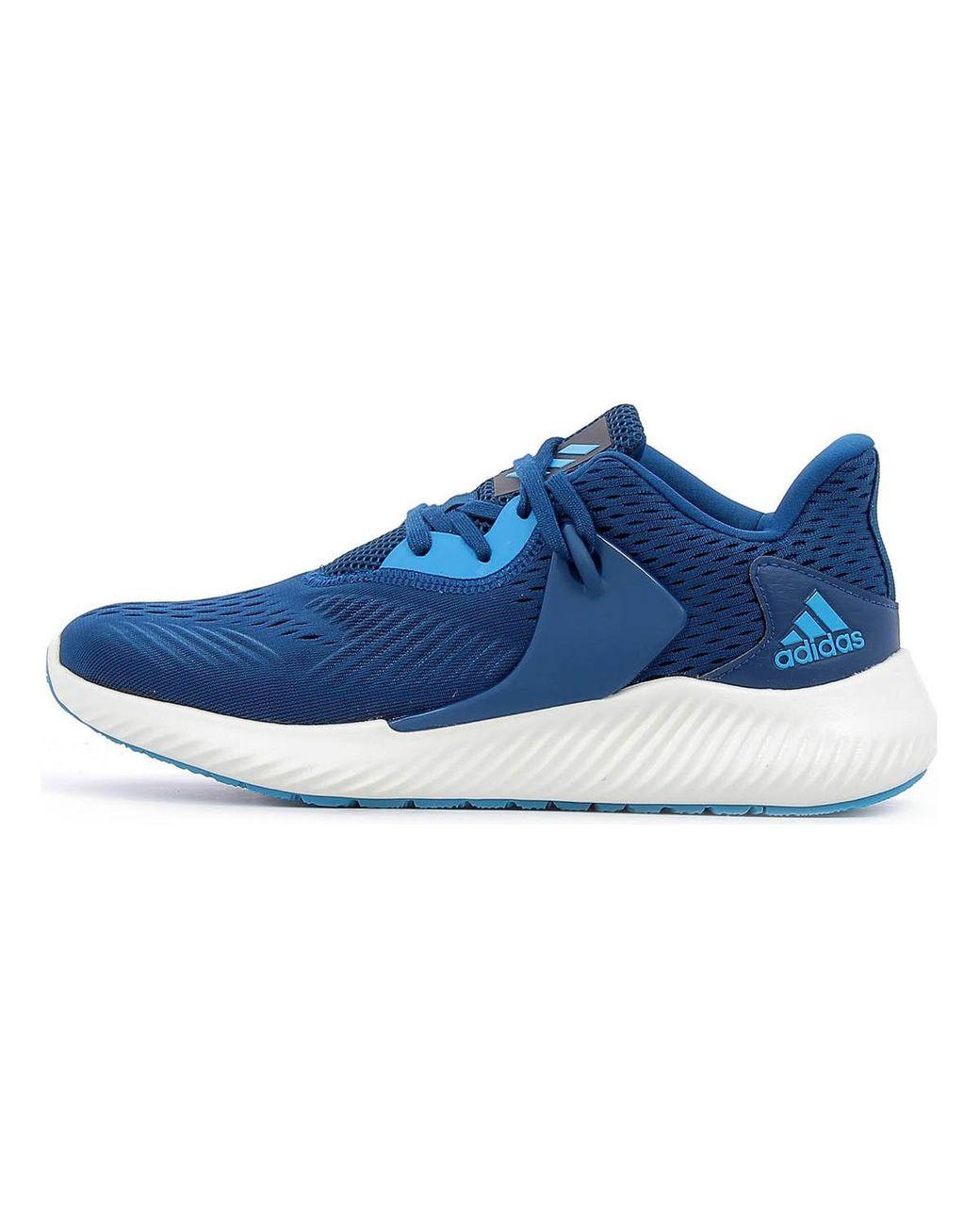 adidas alpha Blauw