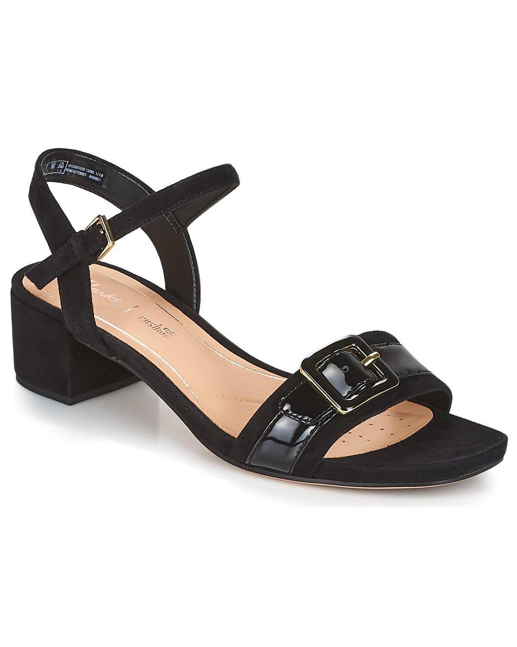 adfaca20e00 Clarks Orabella Shine Women s Sandals In Black in Black - Lyst