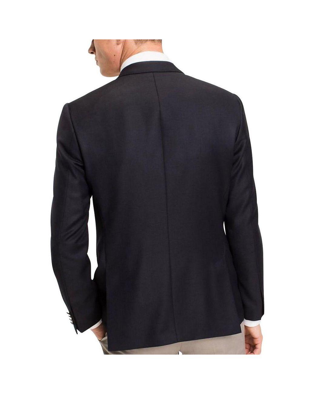Tommy Hilfiger Veste blazer 2 boutons AMERICAN ICON Bleu