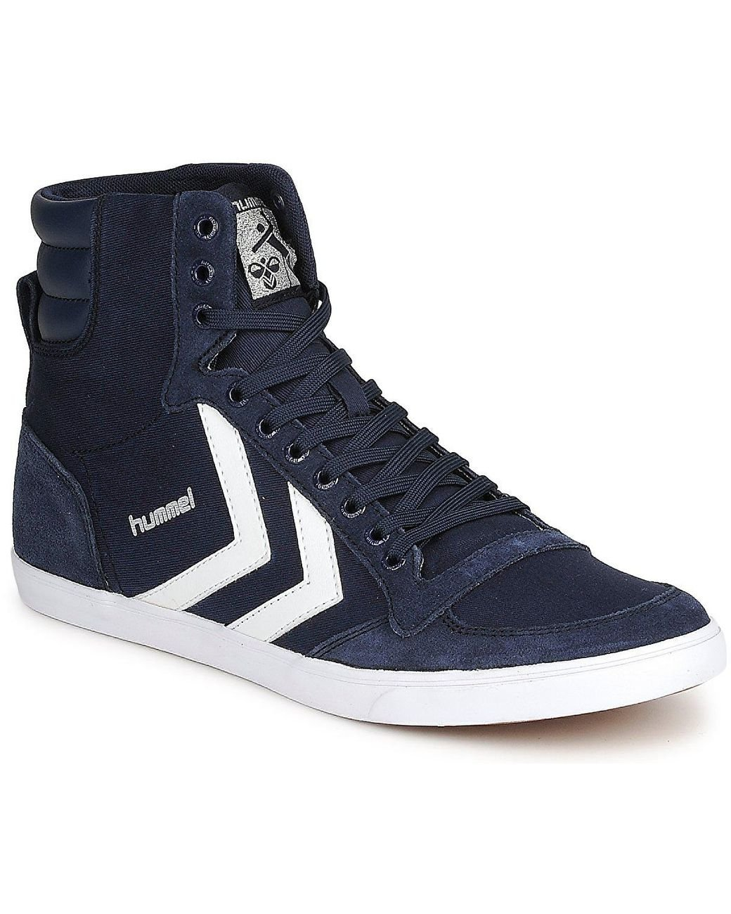 d3695e33302e7a Hummel Slimmer Stadil High Men s Shoes (high-top Trainers) In Blue ...