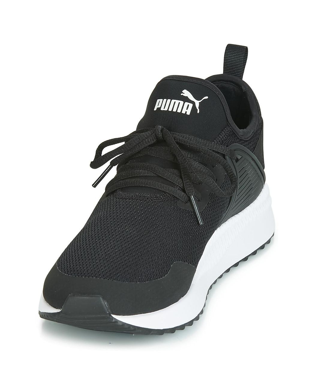 good quality half off skate shoes PUMA Pacer Next Cage Core Shoes (trainers) in Black for Men - Lyst