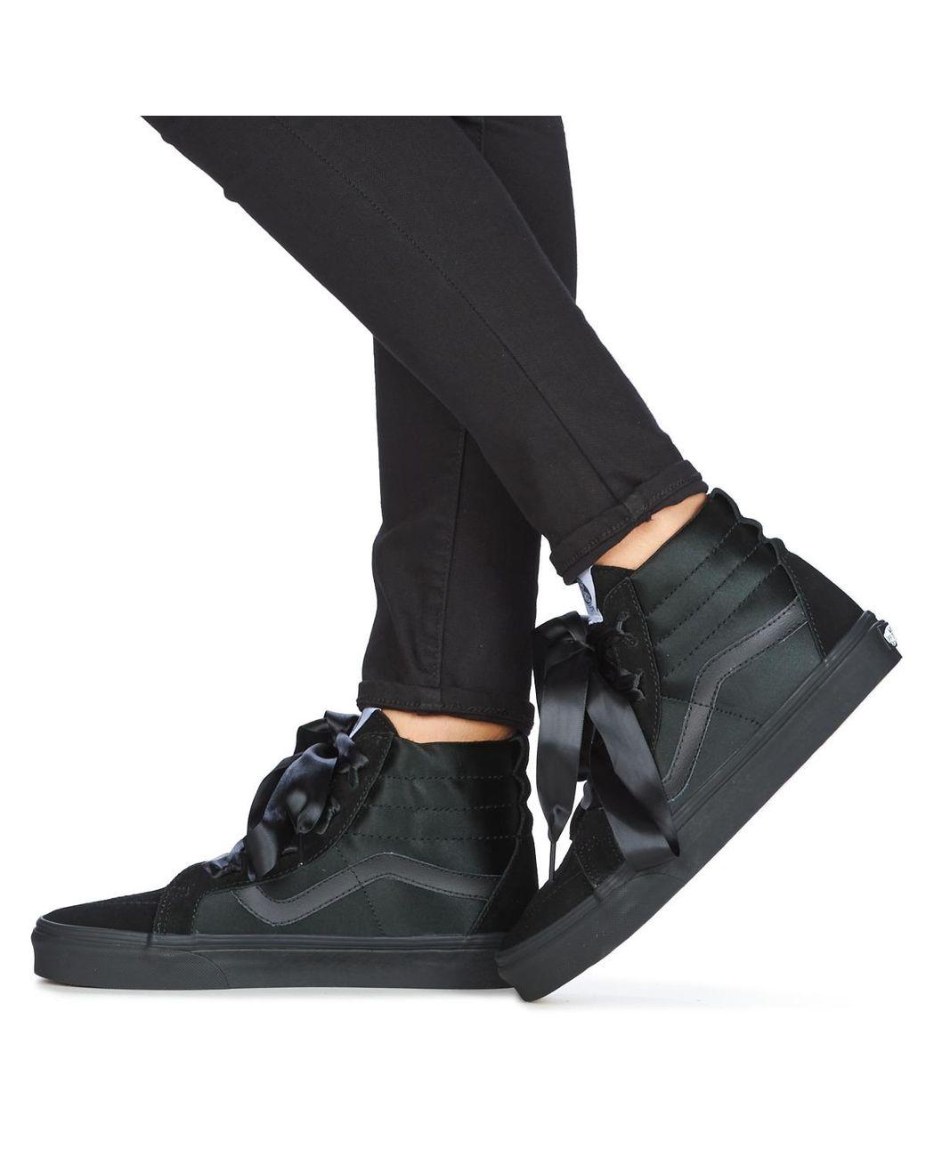 Vans Hoge Sneakers Sk8-hi Alt Lace in het Zwart - Lyst