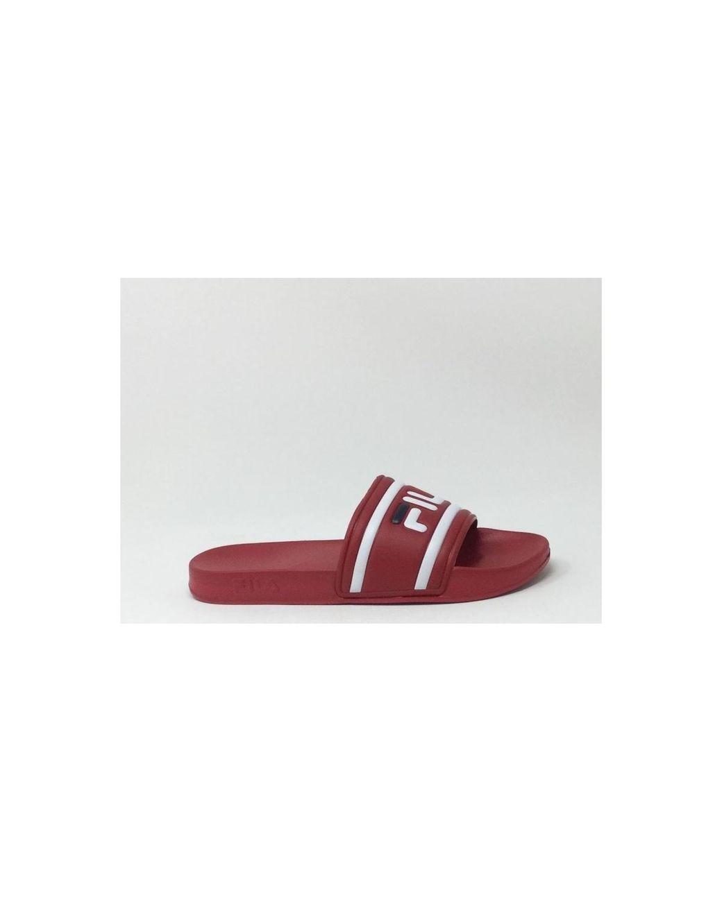 MORRO BAY SLIPPER ROUGE femmes Claquettes en rouge